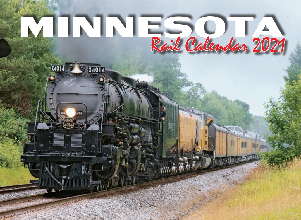 Front cover of the 2021 Minnesota Rail Calendar